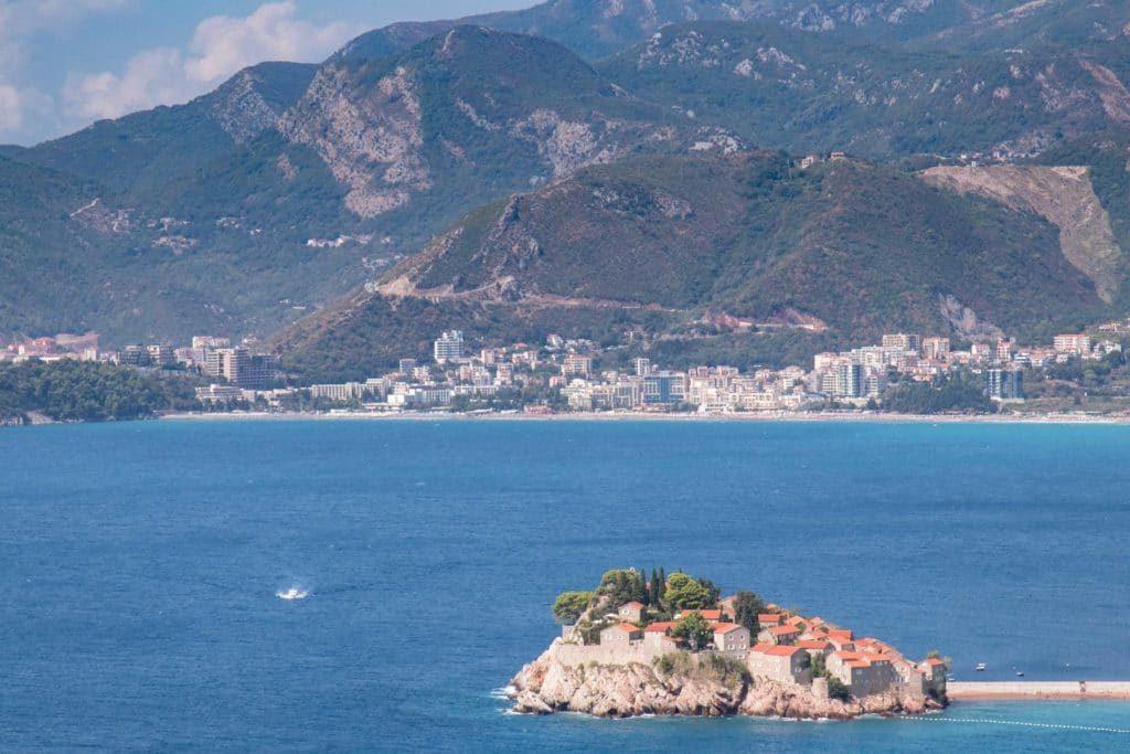 île de Stevi Stefan - Monténégro