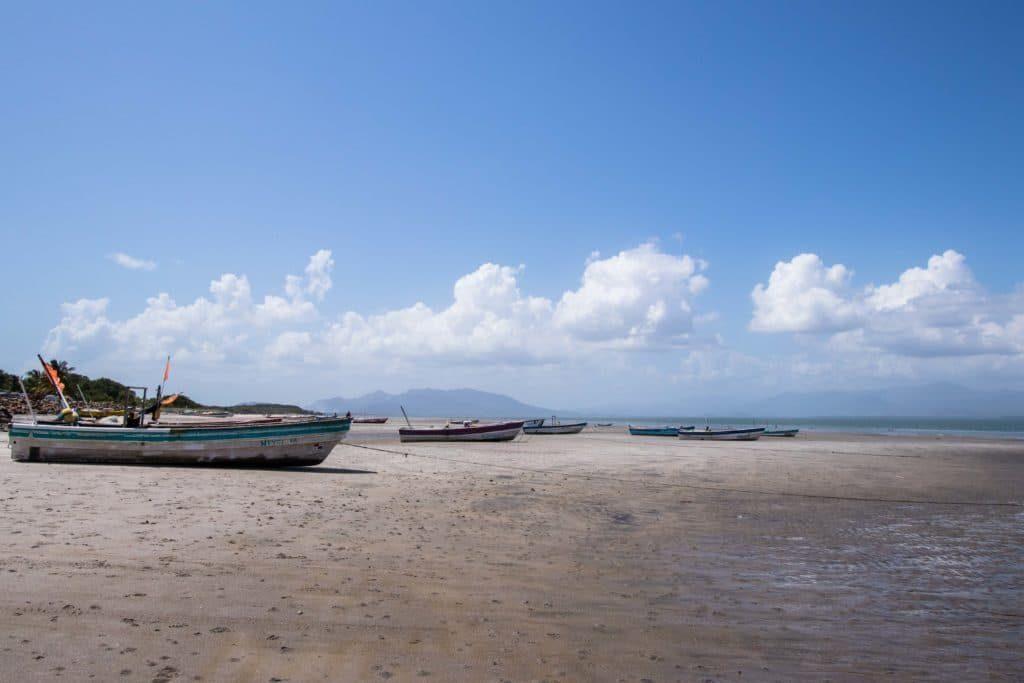 Punta Chame, port pêche, panama