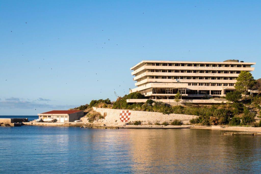 Kupari hôtels abandonnés - Dubrovnik