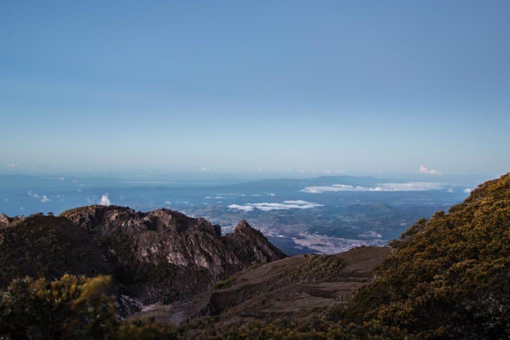 Sommet volcan Baru