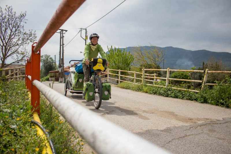 Enjolivélo - voyage végane à vélo