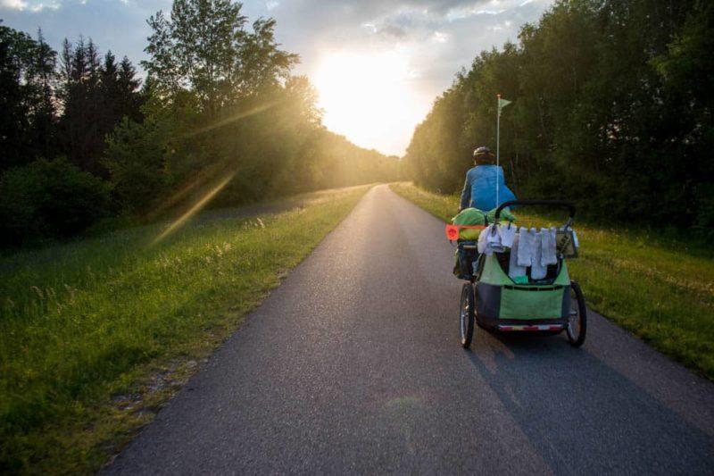 voyage végane à vélo - Enjolivélo