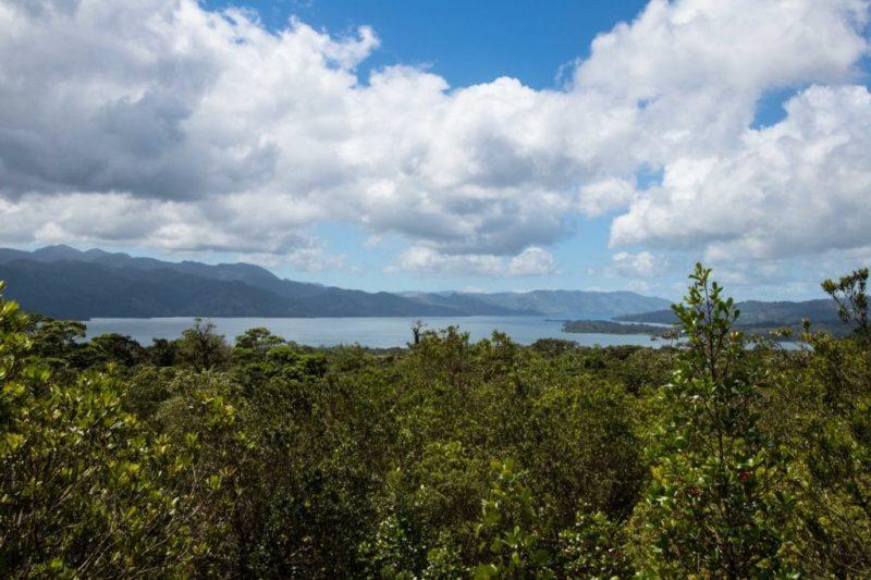 vue sur le lac Arenal