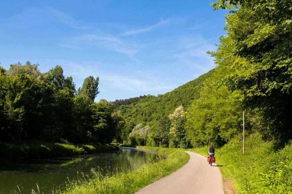 Voyage à vélo en France