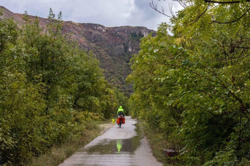 Bosnie à vélo