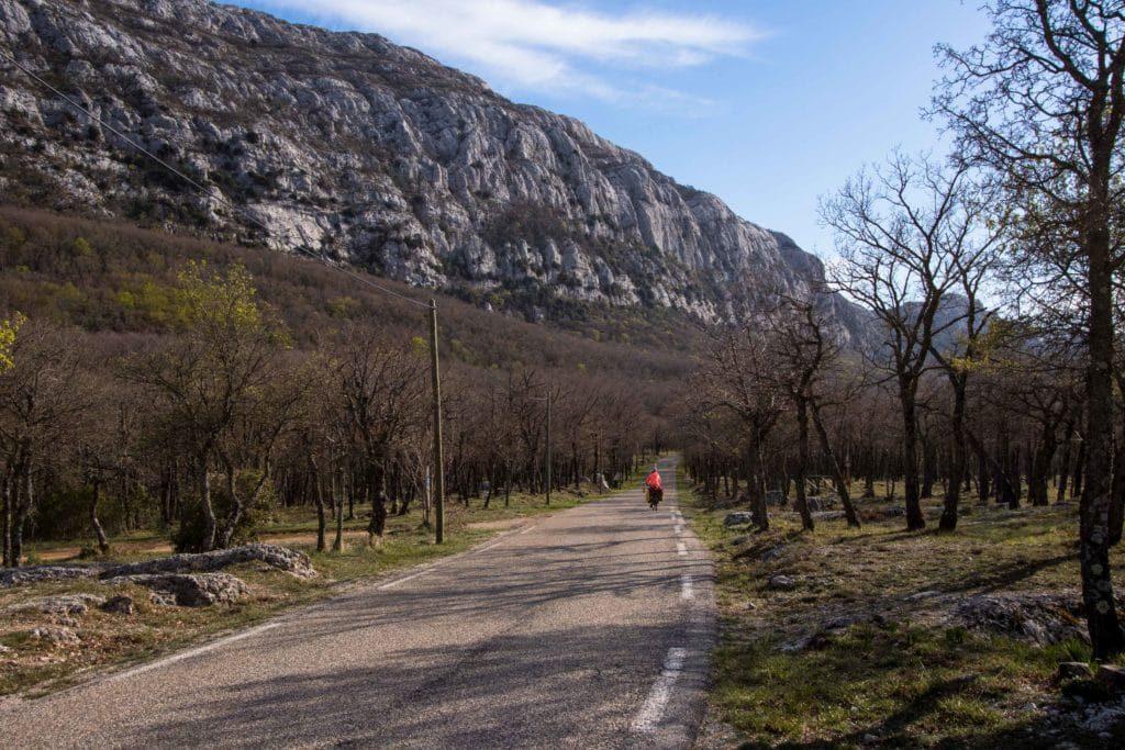 La Provence à vélo - Mila