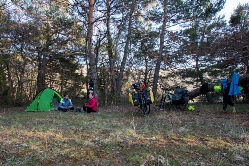 Provence à vélo - forêt enchantée