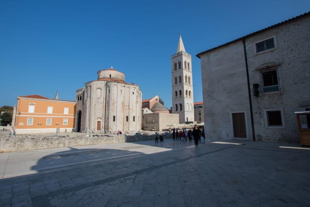 Zadar Croatie à vélo