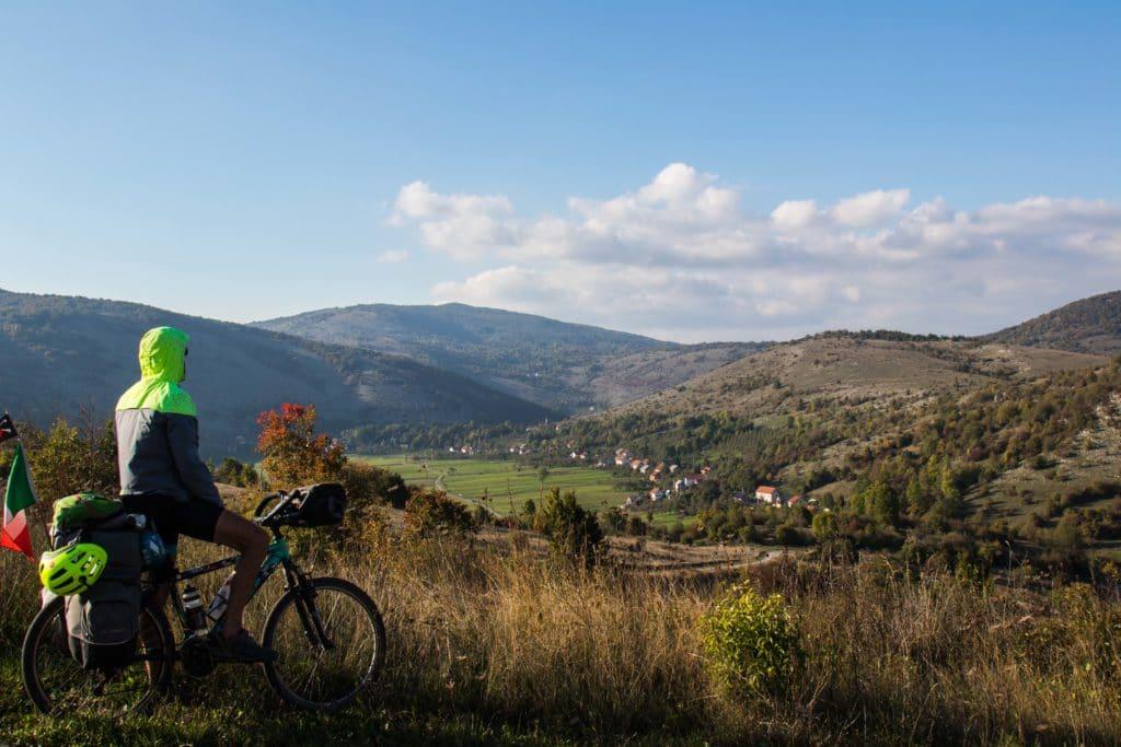 Canak, Croatie Plitivice à vélo