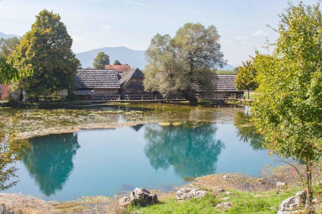 Gaska - rivière - Plitivice