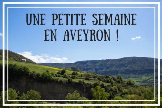 Aveyron - semaine