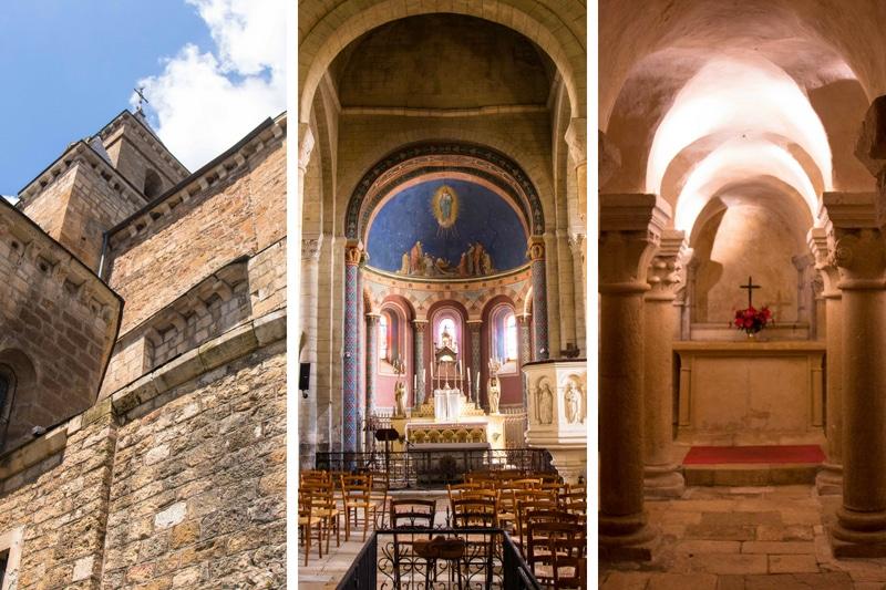 Duravel - église - Vallée du Lot à vélo