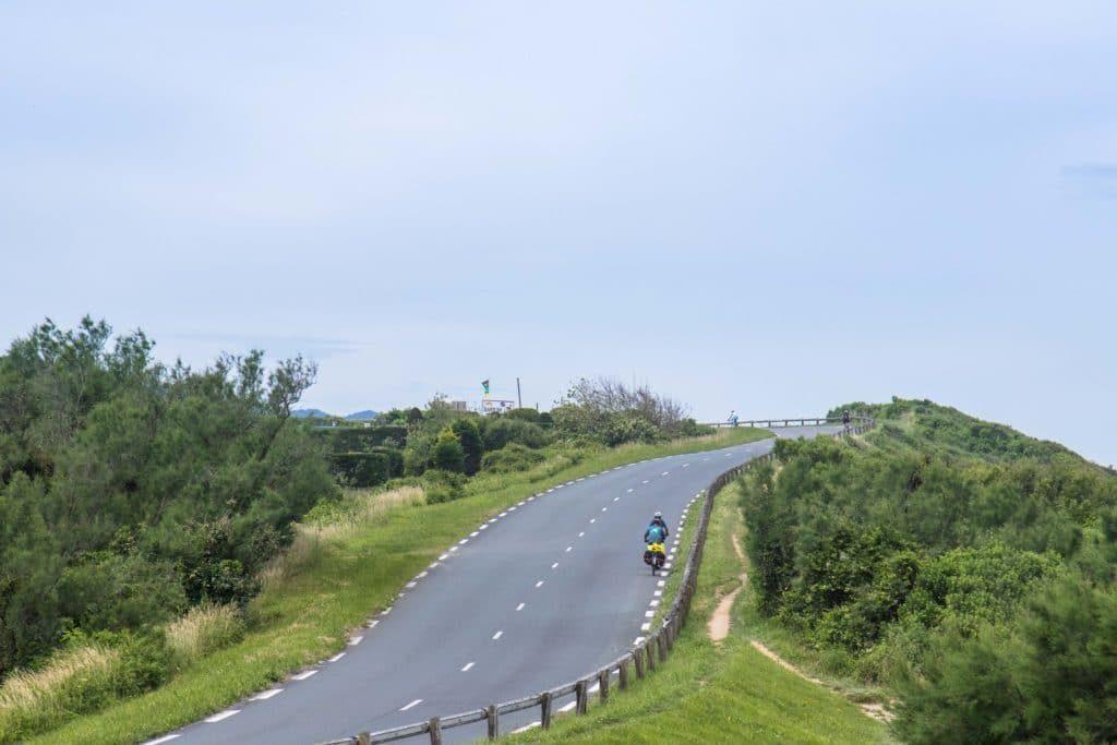 route de la Corniche - Vélodyssée
