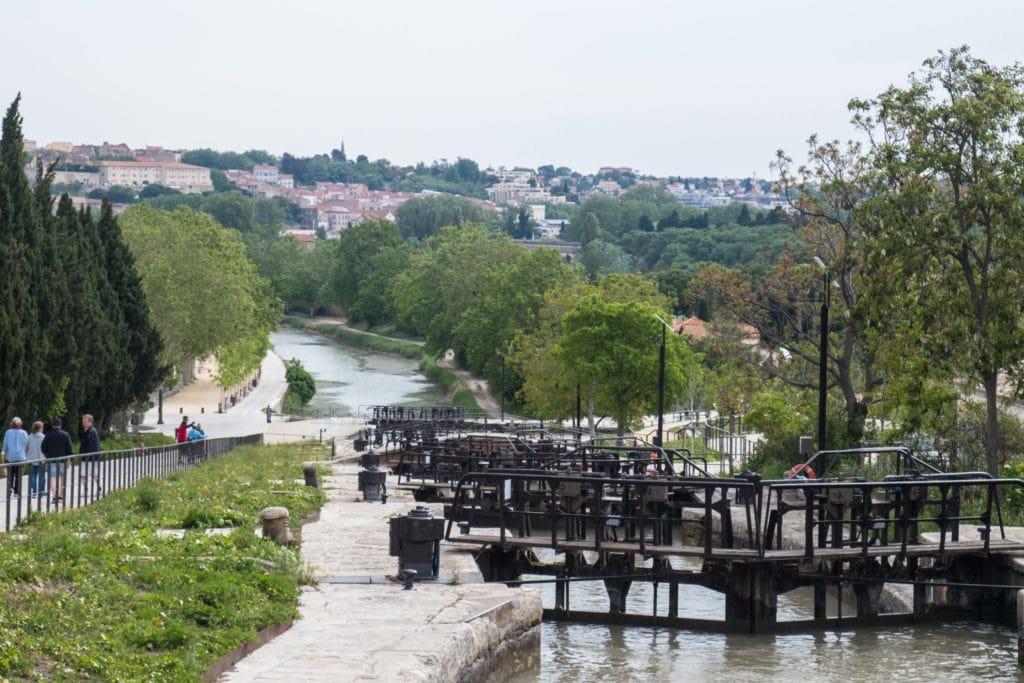 9 écluses - Canal du Midi