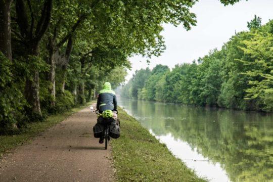 Le canal des deux mers Tarn-et-Garonne à vélo
