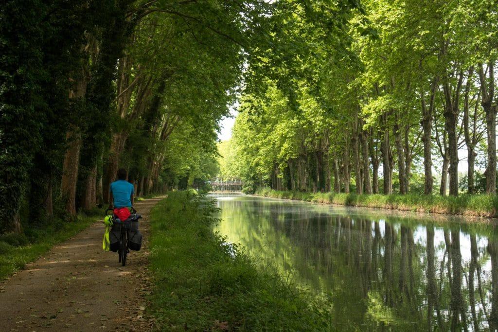 Combien de kilomètres prévoir par jour lors d'un voyage à vélo ?
