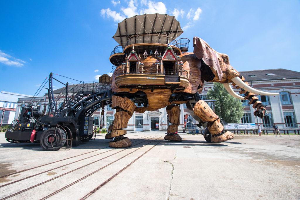 Machines de l'île - éléphant - Nantes