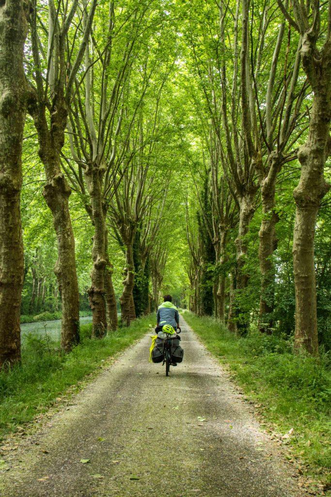 Voyage à vélo Le canal des deux mers - lot et Garonne à vélo