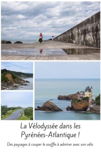 Vélodyssée dans les Pyrénées Atlantique