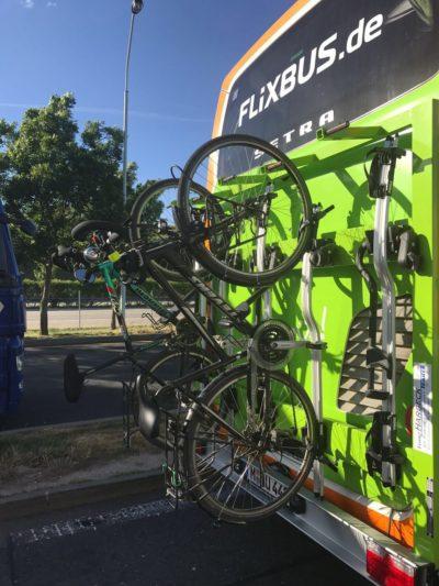 Prendre le bus avec un vélo