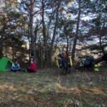 Bivouac voyage à vélo - cyclotourisme