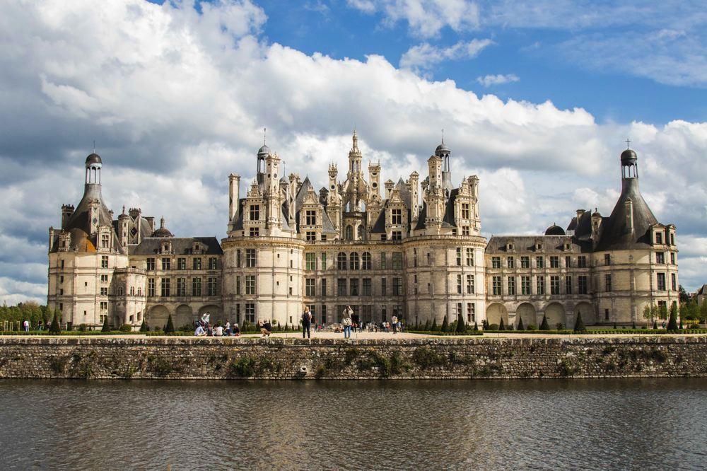 Chateau de Chambord - La Loire à vélo