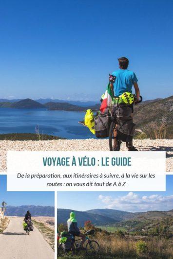 Le guide voyage à vélo d'Un Monde à Vélo