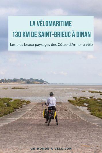 La Vélomaritime à vélo de Saint-Brieuc à Dinan : découverte de l'itinéraire