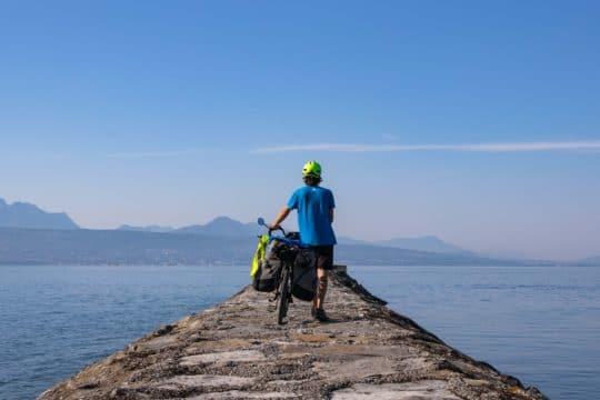 couv - route du Rhône à vélo