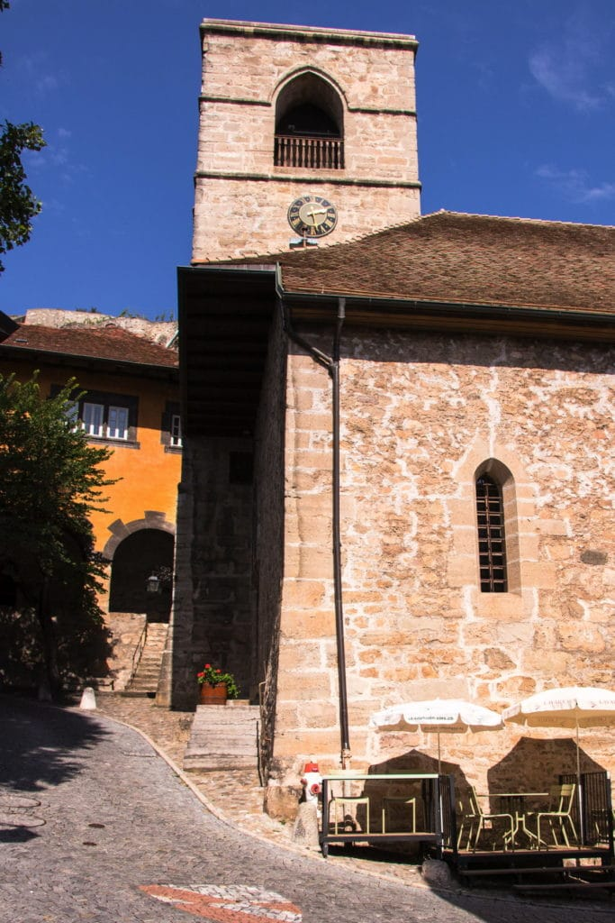 Village de Saint-Saphorin - canton de Vaud