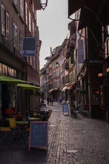 rues de Vevey - Canton de Vaud