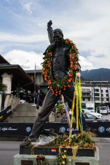 Freddy Mercury statue Montreux