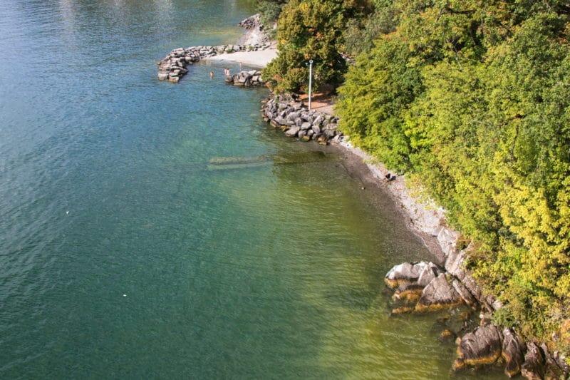 Plage Lac Léman - Montreux