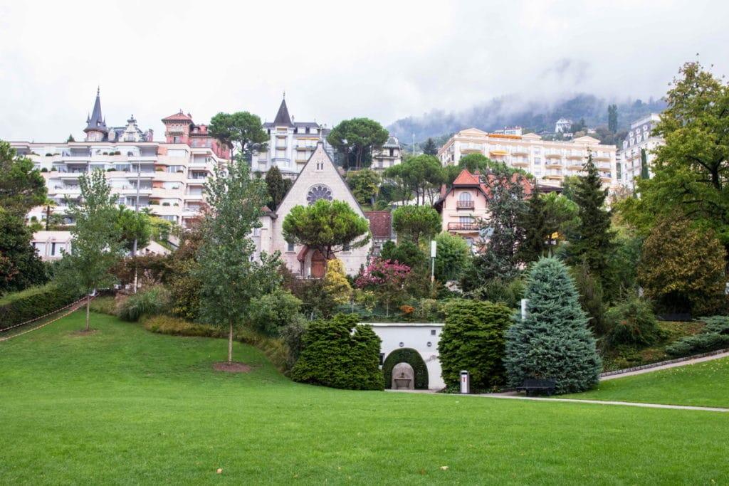 Montreux - route du rhône - Lac Léman