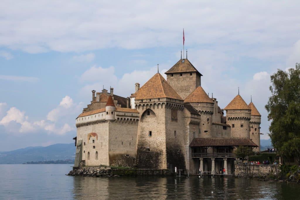 Chateau de Chillon - Canton de Vaud