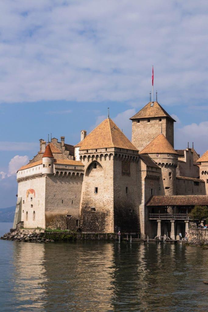château de Chillon - Canton de Vaud