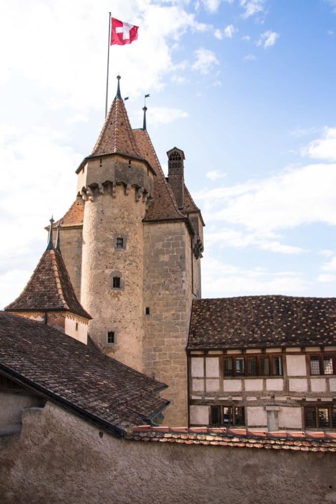château d'aigle Canton de Vaud