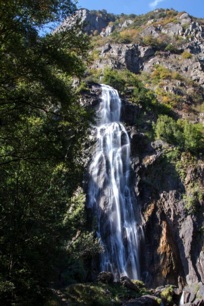 Cascade de la Pissevache - Route du Rhône