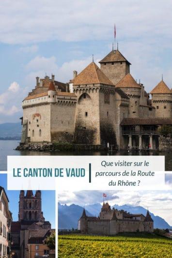 Le Canton de Vaud à Vélo - Epingle Pinterest