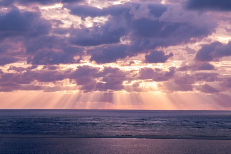 Pilat - coucher de soleil - Gironde