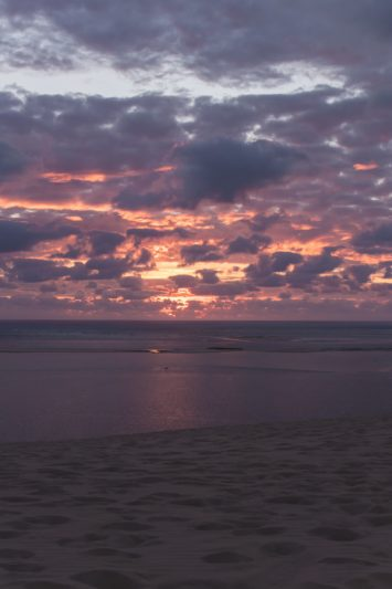 Gironde - coucher de soleil - Dune du Pilat