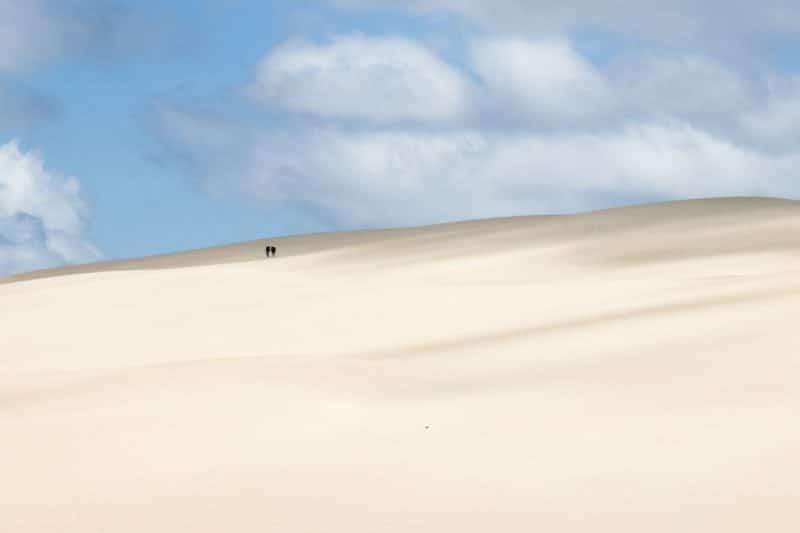 Dune du Pilat - effet désert