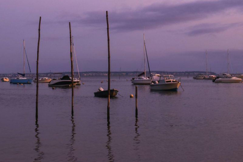 coucher de soleil - Gironde
