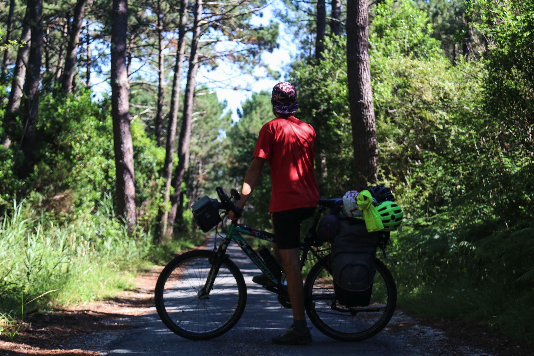 La Gironde à vélo sur la Vélodyssée : surf, sable, Cap Ferret et forêts !