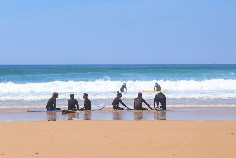 Surf camp pour apprendre le surf