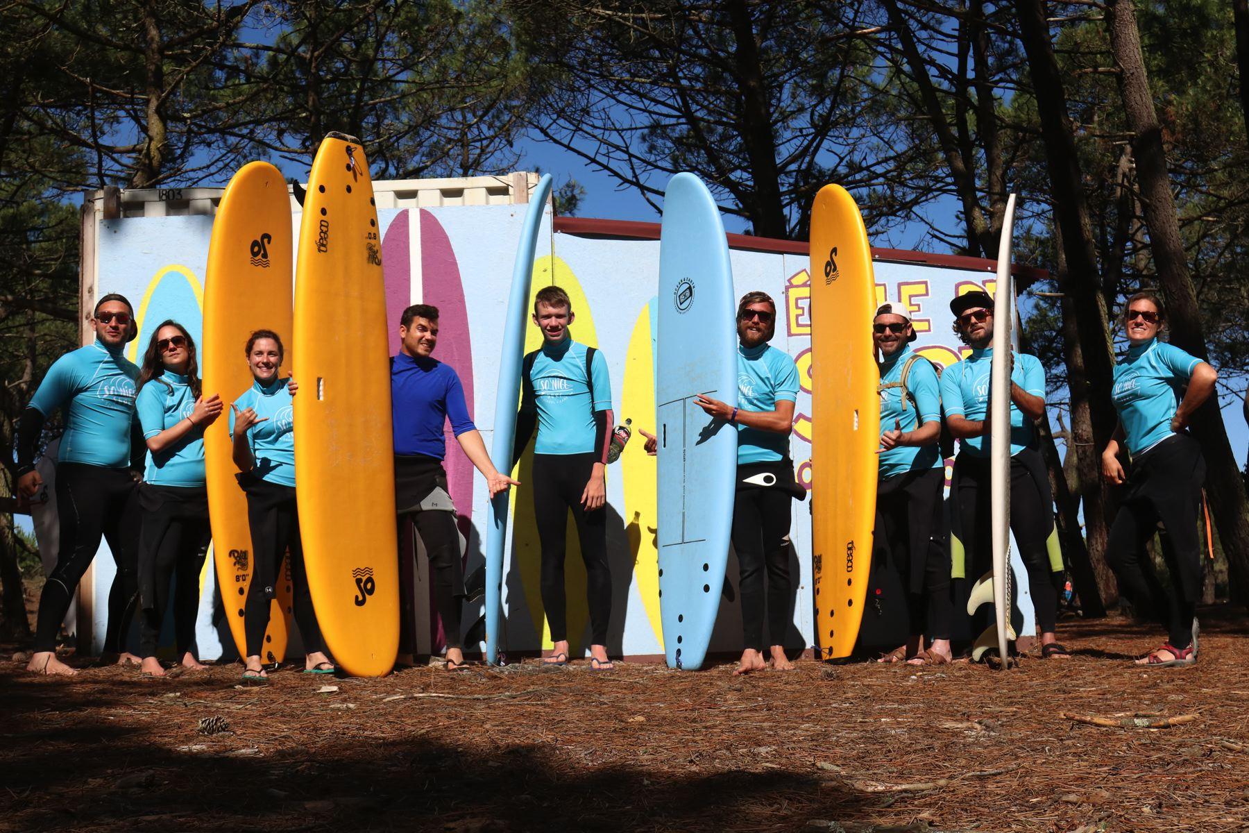 Surf Camp - Apprendre le surf avec So Nice Surf School