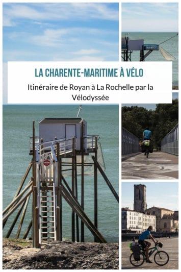 La Charente-Maritime à vélo - itinéraire de Royan à La Rochelle via la Vélodyssée