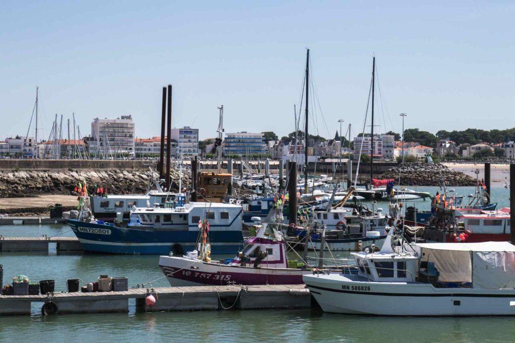 Le port de pêche de Royan