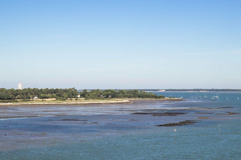 Vue sur Royan - Vélodyssée - estuaire de la Seudre