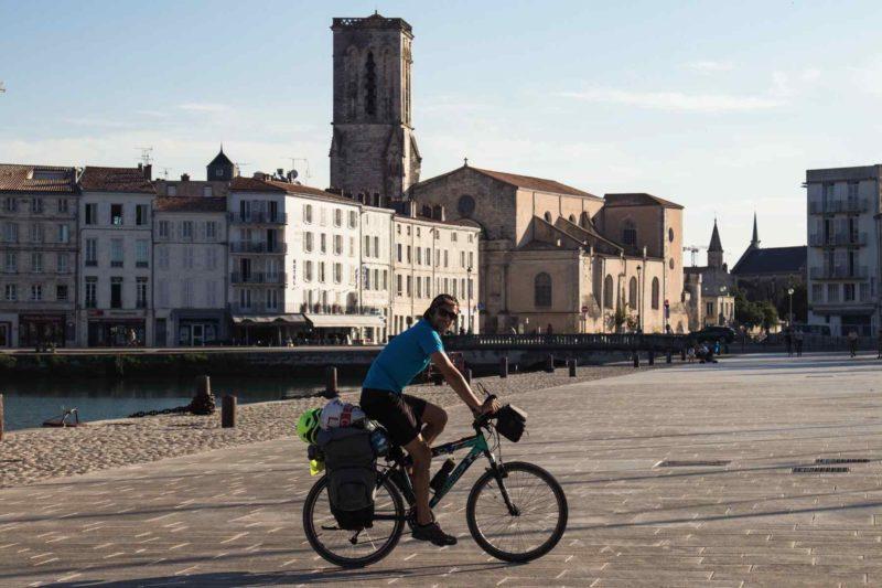 La Vélodyssée en Charente-Maritime de Royan à La Rochelle